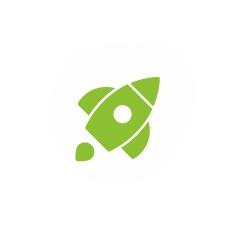small-green-rocket
